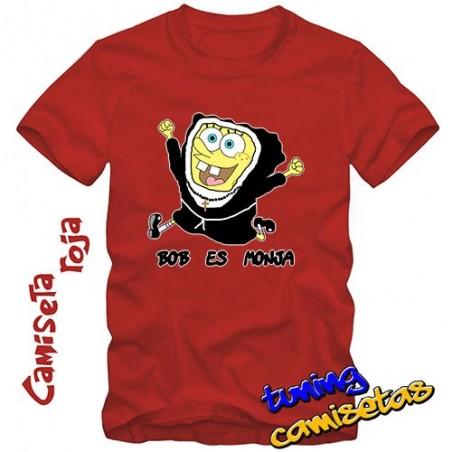 Camiseta Bob esponja o ¿es Monja? V.I.