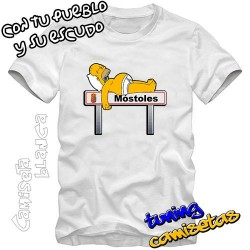 Camiseta Homer señal (homero) I.B.