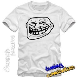 Camiseta meme troll face