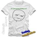 Camiseta meme Are you fucking