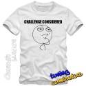 Camiseta meme Challenge Considered