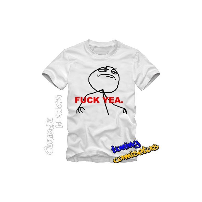 Camiseta meme Fuck Yea