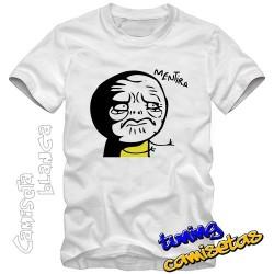 Camiseta meme mentira