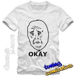 Camiseta meme okay