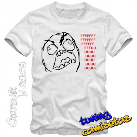 Camiseta meme Rage Guy FFFFUUUU