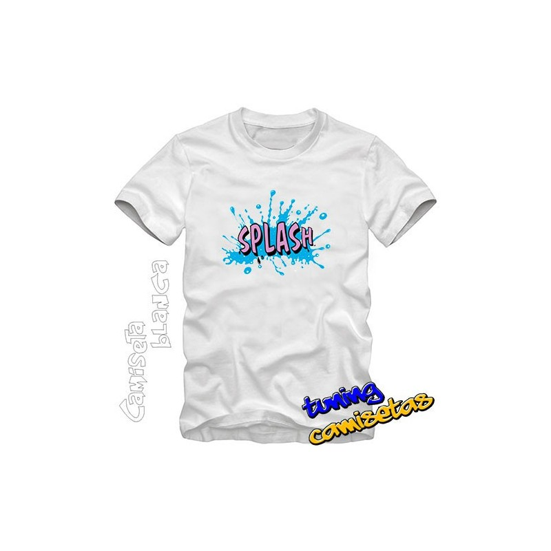 Camiseta Splash I.B.
