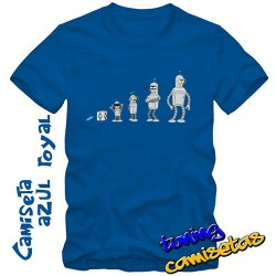 Camiseta evolución bender V.I.