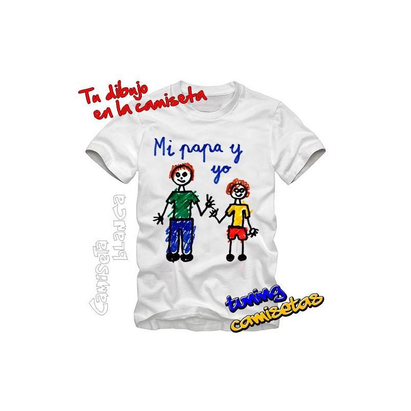 Tu dibujo en la Camiseta
