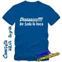 Camiseta Zhaaass en toda la boca
