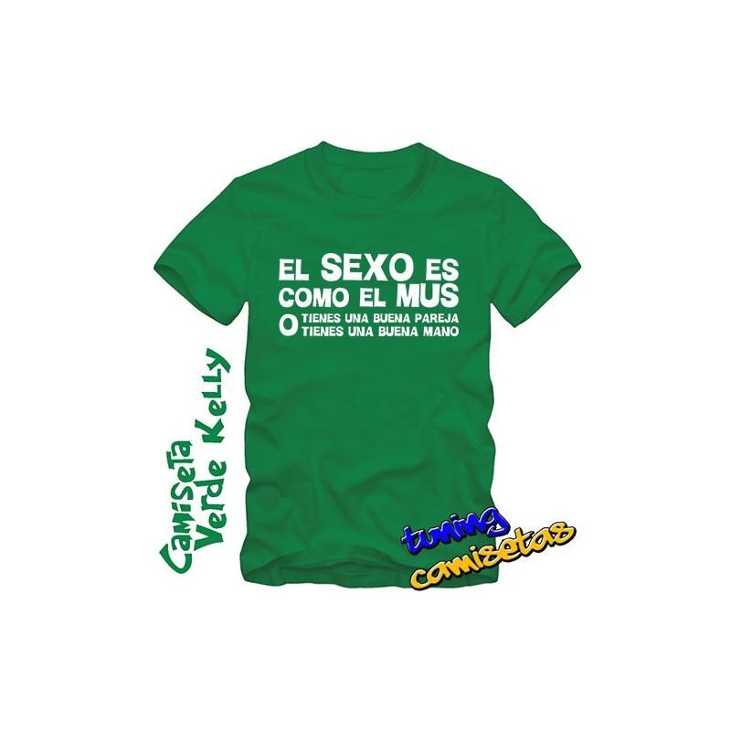 Camiseta El sexo es como el mus