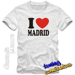 Camiseta l Love Madrid
