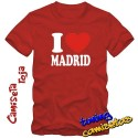 Camiseta l Love Madrid