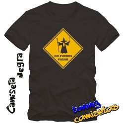 Camiseta Gandalf No puedes pasar