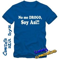 Camiseta No me drogo