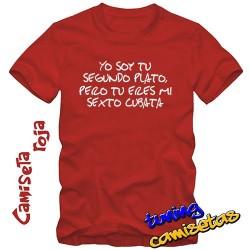 Camiseta Yo soy tu segundo plato