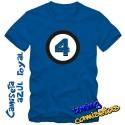 Camiseta los 4 Fantásticos