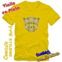 Camiseta Transformers Autobots – Vinilo en PLATA