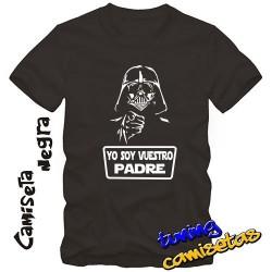 Camiseta Yo soy vuestro padre - Darth Vader