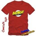Camiseta Bazinga (rayo) - Sheldon Cooper