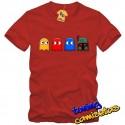 Camiseta pacman y Boba Fett cazarecompensas