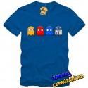 Camiseta pacman y R2D2