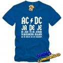 Camiseta AC DC Ja De Je