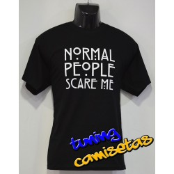 Camiseta American Horror Story normal people