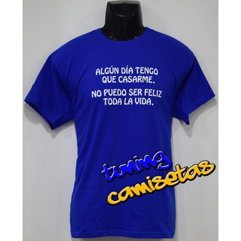Camiseta Tengo que casarme