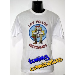 Camiseta los pollos hermanos breaking bad I.B.