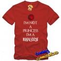 Camiseta I´m not a princess
