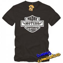 Camiseta Padre y Motero
