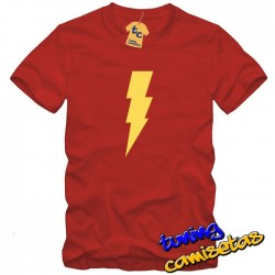 Camiseta Flash Rayo - the big bang theory