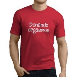 Camiseta Donando Orgasmos