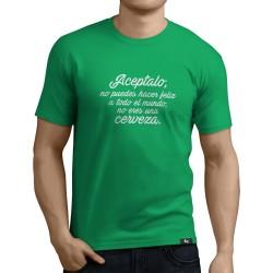 Camiseta No eres una cerveza