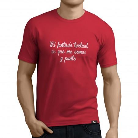 Camiseta Famtasia Textual