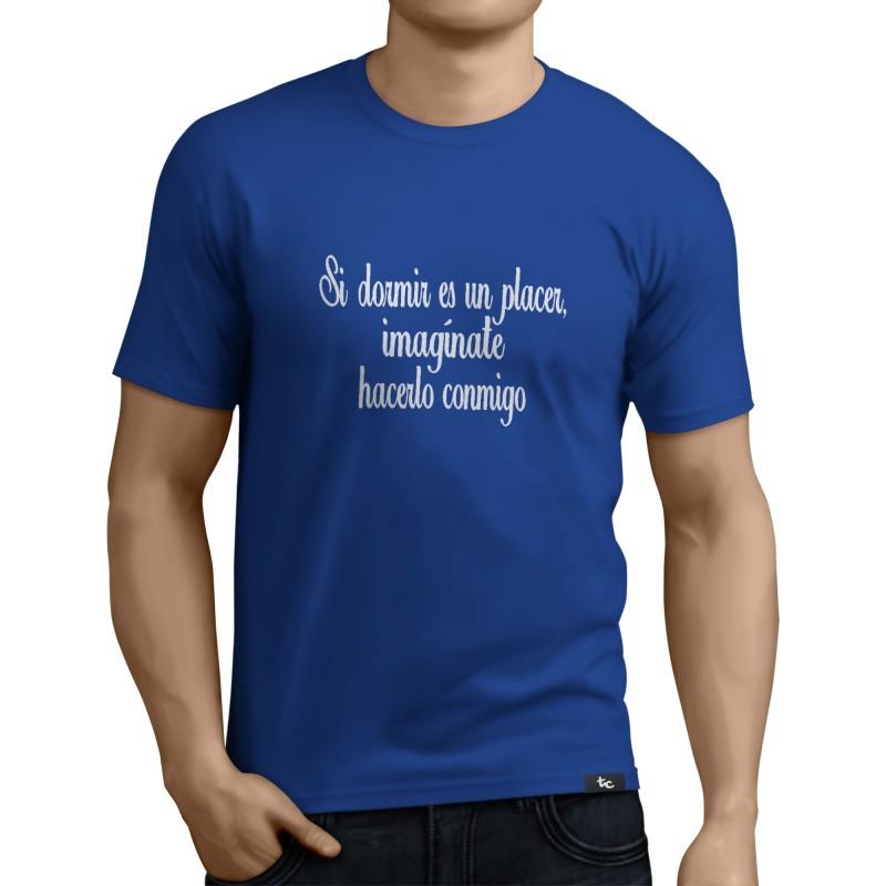 Camiseta Dormir es un plader
