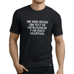 Camiseta Test de inteligencia