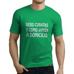 Camiseta bebo cubatas