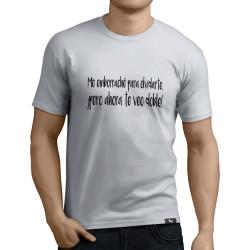 Camiseta Me emborrache para olvidarte