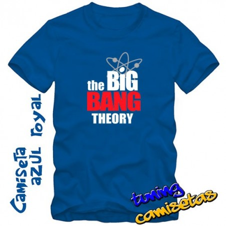 camiseta the big bang theory