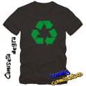 Camiseta Reciclaje - Sheldon Cooper