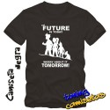 Camiseta Futurama El futuro es hoy