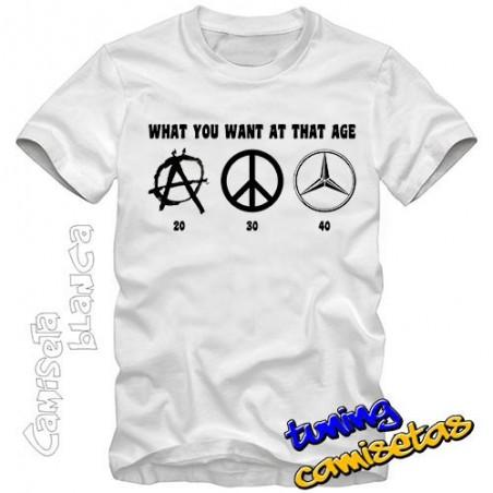 Camiseta ¿que edad tienes? I.B.