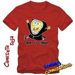 Camiseta Bob esponja o ¿es...
