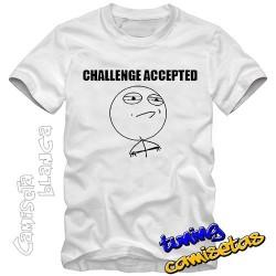 Camiseta meme Challenge...