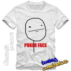 Camiseta meme pokerface