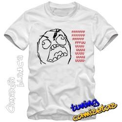 Camiseta meme Rage Guy...
