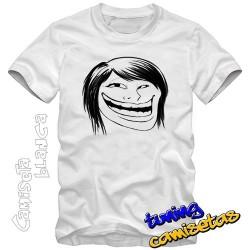 Camiseta meme trolla