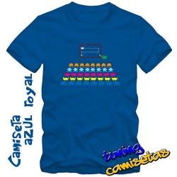 Camiseta invader space...
