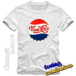 Camiseta Mama Mola - chapa...